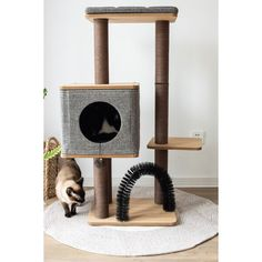 Cat Tree Condo, Cat Condo, Cat Tree Designs, Cat Perch, Cat Towers, Jute Fabric, Pets For Sale, Cat Scratching Post, Kitten Love