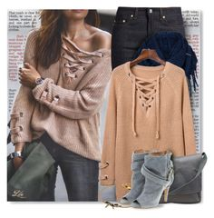 """""""Cool Neutrals II"""" by breathing-style ❤ liked on Polyvore featuring Chicwish, Acne Studios, prAna, Burberry, Marc Jacobs and Maison Margiela"""