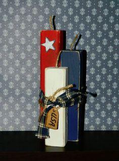 Handmade-Wooden-Firecrackers-4th-of-July-Decor-Americana