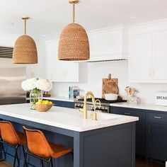 Loving the mix of colors and texture in this kitchen by @studiomcgee!  What do you love most?!  Don't forget to LIKE! xoxo, Anneke