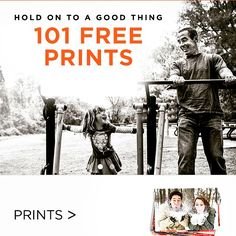 101 free prints, here's the code!