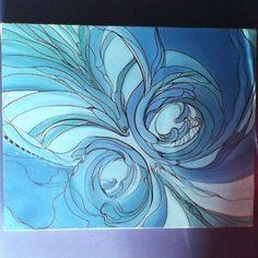Завершилась, наконец то, картина. Холст, масло, 20х25 см. #art #painter #paint #oil #картина #продается  #искусство #абстракция #художник #графика #синий #арт #artist #море #живопись
