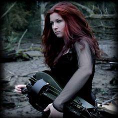 Folk Bands, Hurdy Gurdy, Gothic Girls, Singer, Sexy, Pretty, Hair, Photography, Fantasy Characters