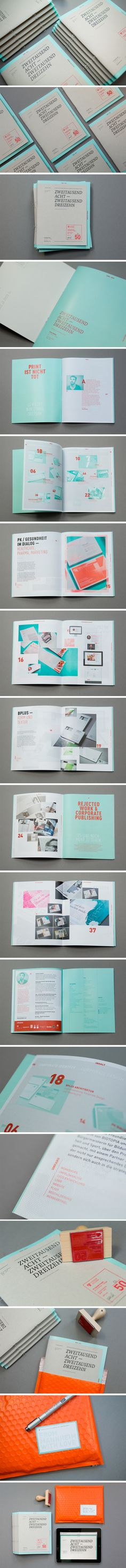 Pascal Fedorec, Germany // self promotional booklet and updated online portfolio. - editorial / color / typo