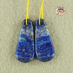 EA13608  Beautiful Lapis Lazuli Earrings Bead by Artiststone