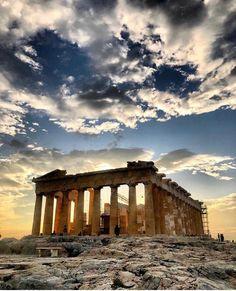 Athens Acropolis, Parthenon, Athens Greece, Roman Architecture, Ancient Architecture, Ancient Ruins, Ancient Greece, Most American Picture Ever, Greek Gods