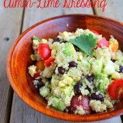 Quinoa Salad with Cumin-Lime Dressing - Rachel Cooks