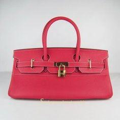 Sacs Hermès Pas Cher Birkin 42cm Togo Cuir Sac Rouge 6109 €249.00