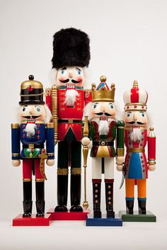 Nutcrackers by DaveBarcroft, via Flickr - If there's one addition I want to make to my Christmas decs this year, it's a really gorgeous nutcracker.