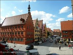 Dinkelsbühl on the Romantic Road in Germany is one of my all-time favourite places.