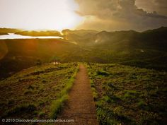 Road to Mount Tapyas, Coron, Palawan, The Philippines