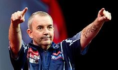 Phil 'The Power' Taylor's 16 world championship titles have included four whitewashes in finals. #sport #darts