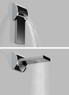 1000 Ideas About Waterfall Shower On Pinterest Shower Heads Shower Panels