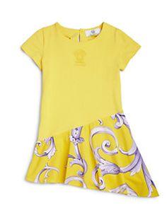 Versace - Toddler's & Little Girl's Drop-Waist Barocco Dress