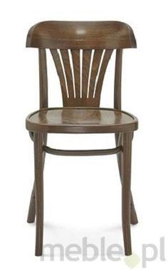 Niezwykle piękne drewniane krzesło A-165 dostępne także z tapicerowanym siedziskiem, Fameg - Meble, 302zł