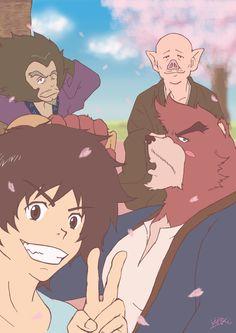 The Boy and the Beast Kumatetsu Kyuta Tatara Hyakushubo (by kuma)