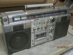 Sanyo M X920 Am FM 2 Band Stereo Tape Recorder | eBay