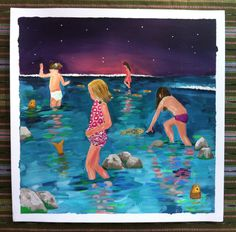 Noche de peces - Casi sirenas