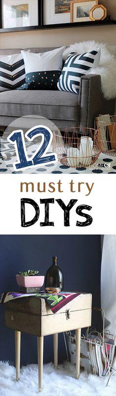 12 Must Try DIYs - Picky Stitch