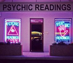 What if we got a psychic reader? Too weird?