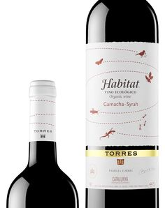 HABITAT. Bodegas Torres, tinto, de garnacha y syrah. #Wineof Spain  #vinosmaximum #taninotanino