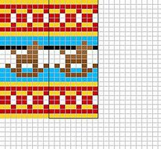 Ravelry: Rocking horse chart pattern by Sandra Jäger