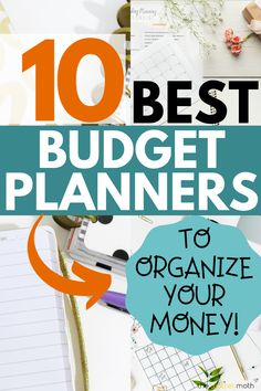 10 of the best budget planner books online to organize your money. These budget planners are all affordable and great to get your finances together. Online Budget Planner, Monthly Budget Planner, Budget Binder, Printable Planner, Receipt Organization, Finance Organization, Budget Tracking, Making A Budget, Living On A Budget