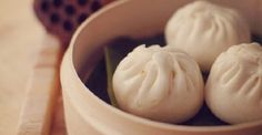 #Chinese Steamed Meat Buns   Steamed Meat Buns(小笼包) is a type of steamed bun (baozi) from the Jiangnan region of China, especially associated with Shanghai and Wuxi. It is traditionally prepared in Steamed Meat, small bamboo steaming baskets, which give them their name.