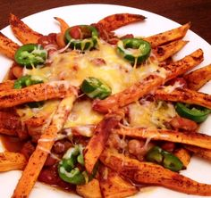 Sweet Potato Chili Fries - Powered by @ultimaterecipe
