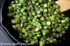 South Indian Okra (Vendakka) Curry