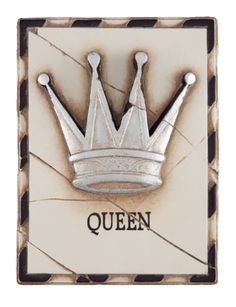 Blessed with a woman's intuition,  all the world is yours to expand.Name: QueenCollection: 1998 Collection Tile #: T25