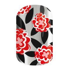 Wild Rose | Jamberry | Romance is in the air! The vivid red makes 'Wild Rose' a dreamy look.