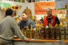Salon international de l'agriculture - Stand Miel d'Alsace - apiculteurs
