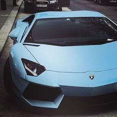 Sexy baby blue Lambo #madness