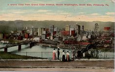 iew Avenue, Mount Washington, South Side, Pittsburgh, 1911 [OrchardLake's Flickr]