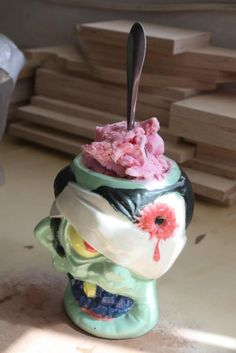 Cool Zombie Head Mugs http://coolpile.com/home-stuff-magazine/cool-zombie-head-mugs/ via CoolPile.com - $22.80 -  Beer, Coffee, Cool, Mugs, Zombies