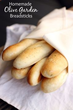 Homemade Olive Garden Breadsticks recipe from TastesBetterFromS...