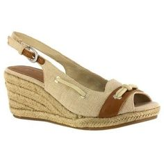 Bella Vita Marlene Sandals (Natural Linen) - Women's Sandals - 7.5 D