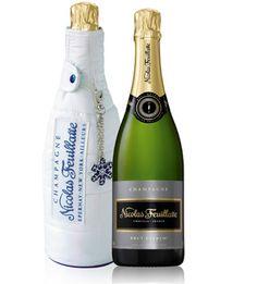 Champagne Nicolas Feuillatte Brut Extrem'«Siberian Dream» ice jacket - Design by QSLD