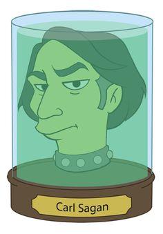 Carl Sagan Futurama