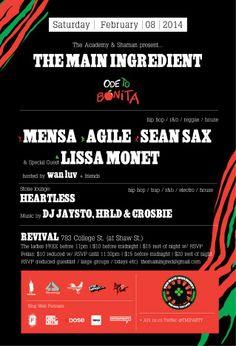 The Main Ingredient - Ode To Bonita - DJ Lissa Monet Official Blog #tribecalledquest