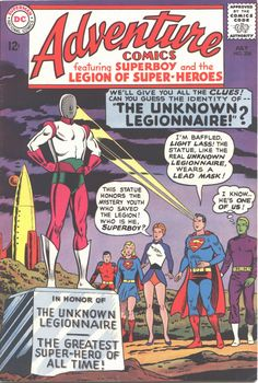 Adventure Comics #334, July 1965, cover by Curt Swan and George Klein