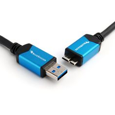 SuperSpeed USB 3.0 to Micro USB 3.0 Cable (6 Feet) by BlueRigger  ○ Product Description The BlueRigger USB 3.0 to Micro-B USB 3.0 Cable is ideal for connecting Samsung Galaxy smartphones and tablets, and hard drives to your computer or USB chargers. http://on.fb.me/1Cvg7pG