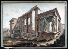 Simone Pomardi (1760-1830)-Erechtheion, 1805