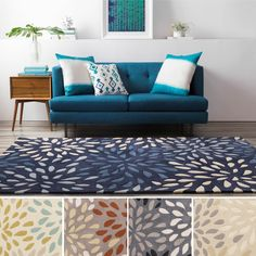 Shop for Hand-tufted Abstract Geometric Contemporary Accent Area Rug. Get free delivery On EVERYTHING* Overstock - Your Online Home Decor Store! Get in rewards with Club O! Decor, Furniture, Contemporary, Polyester Rugs, Tufted, Home Decor, Colorful Rugs, Area Rugs, Hand Tufted Rugs