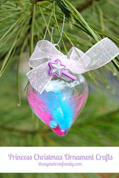 Princess Christmas Ornament Crafts