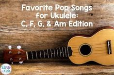 Are you looking for clean, age-appropriate pop music to teach ukulele? Here are some of the songs I use in my own classroom for ukulele instruction! Ukulele Songs Beginner, Ukulele Chords Songs, Cool Ukulele, Ukulele Tabs, Guitar Songs, Ukulele Cords, Ukulele Fingerpicking, Fingerstyle Guitar, Singing Lessons