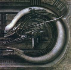 Hans Ruedi Giger, «Alien», Alien Monster V