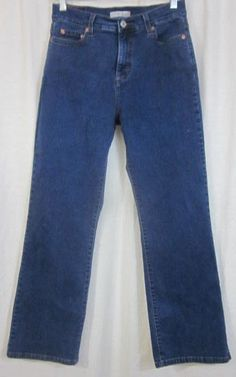 Levi's 512 Jeans Size 10 Short 28x29 Boot Cut Perfect;y Slimming Free Shipping #Levis #BootCut