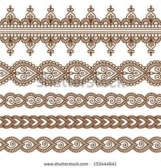 indian border patterns - Google Search